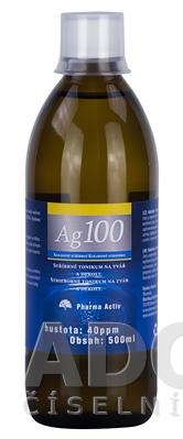 632641043 Pharma Activ Koloidné striebro Ag100 - ADC.sk