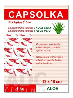 CAPSOLKA hrejivá kapsaicínová náplasť s ALOE VERA
