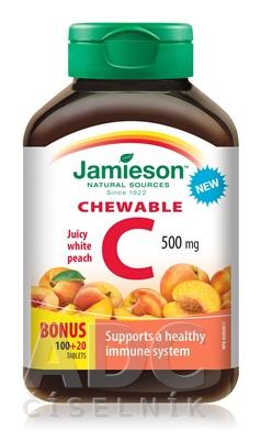 JAMIESON VITAMÍN C 500 mg broskyňa