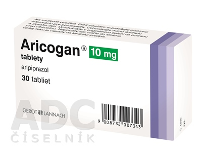 Aricogan 10 mg tablety