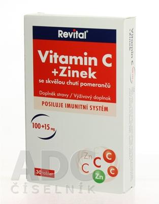 Revital Vitamín C+Zinok