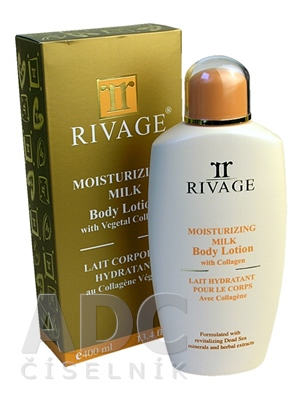 RIVAGE Zvlhčujúce telové mlieko