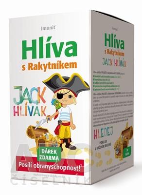 Imunit HLIVA s Rakytníkom pre deti JACK HLÍVÁK