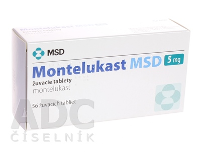 Montelukast MSD 5 mg