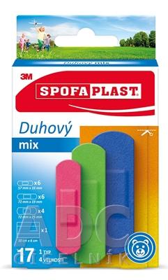 3M SPOFAPLAST č.606 Náplasti Dúhový mix