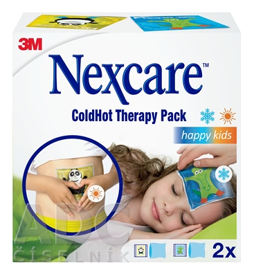 3M Nexcare ColdHot Therapy Pack Happy Kids
