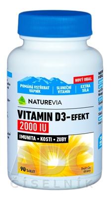 SWISS NATUREVIA VITAMIN D3-EFEKT 2000 I.U.