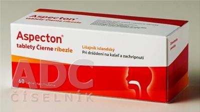 Aspecton tablety Čierne ríbezle