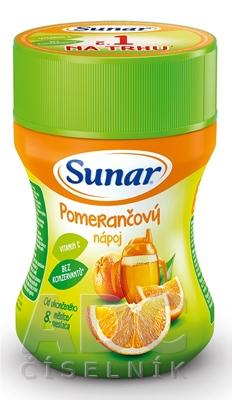 Sunar Rozpustný nápoj Pomarančový