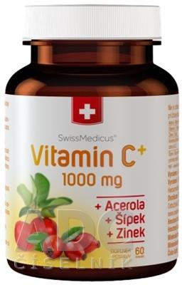 SwissMedicus Vitamín C+ 1000 mg