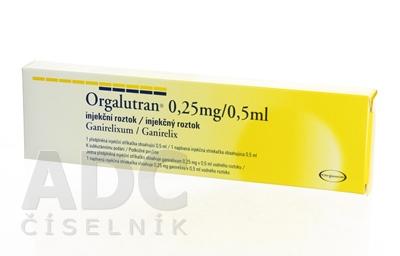 Orgalutran 0,25 mg/0,5 ml injekčný roztok