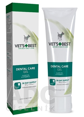 VET´S BEST DENTAL CARE GEL Clove oil