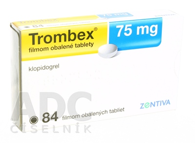 Trombex 75 mg filmom obalené tablety