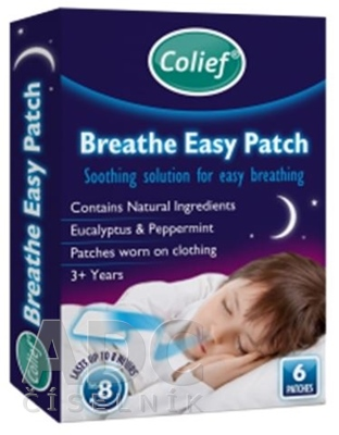 Colief Breathe Easy Patch Eucalyptus & Peppermint