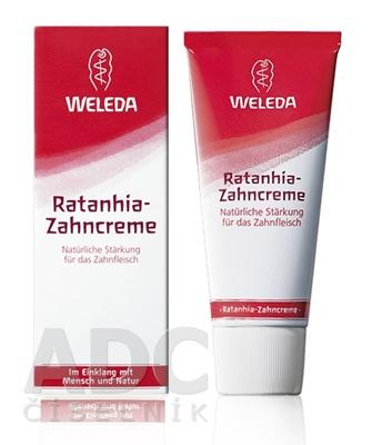 WELEDA Rataňová zubná pasta