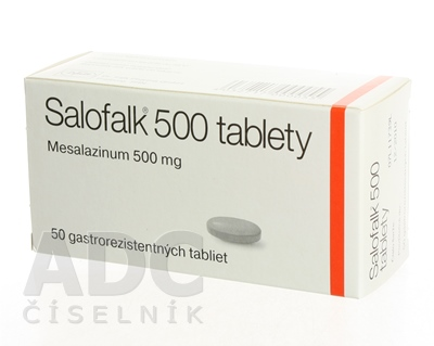 SALOFALK 500 tablety