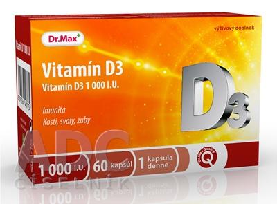 Dr.Max Vitamín D3 1000 I.U.