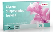 Dr.Max Glycerol suppositories for kids (inov.2019)