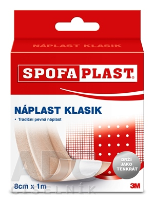 3M SPOFAPLAST č.264 Klasik Textilná náplasť