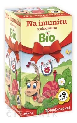 APOTHEKE ROZPRÁVKA Na imunitu s jahodou Bio