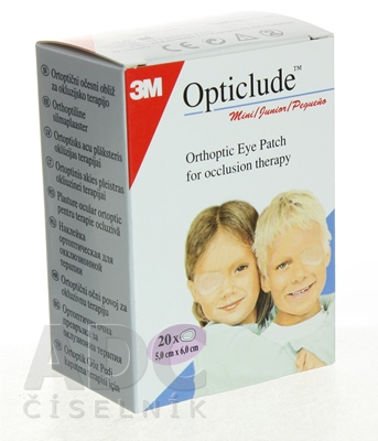 3M Opticlude Standard Mini Očná náplasť [SelP]