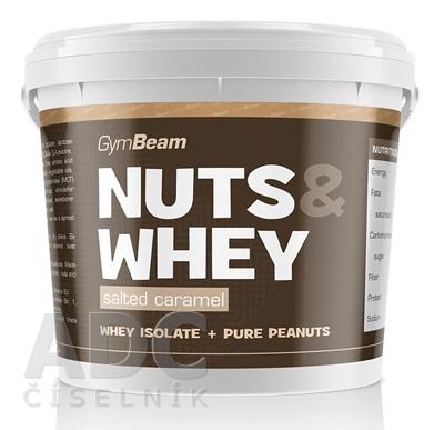 GymBeam Proteínové arašidové maslo Nuts & Whey