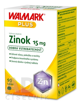 WALMARK Zinok 15 mg
