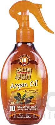 SUN ARGAN OIL opaľovací OLEJ SPF 10