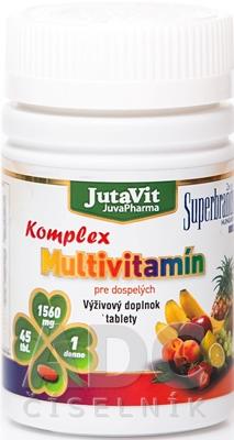 JutaVit Multivitamín Komplex pre dospelých
