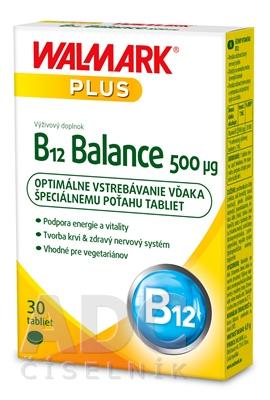 WALMARK B12 Balance 500 µg