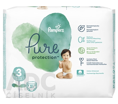 PAMPERS PURE protection VP 3 Midi