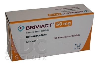 Briviact 50 mg filmom obalené tablety