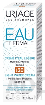 URIAGE EAU THERMAL LIGHT CREAM SPF20