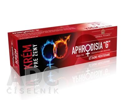 """APHRODISIA """"G"""" krém pre ženy"""