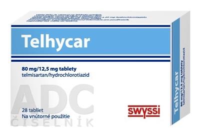 Telhycar 80 mg/12,5 mg tablety
