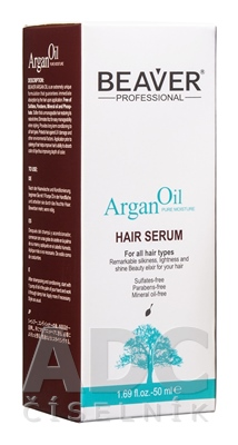 BEAVER ARGAN OIL HAIR SERUM