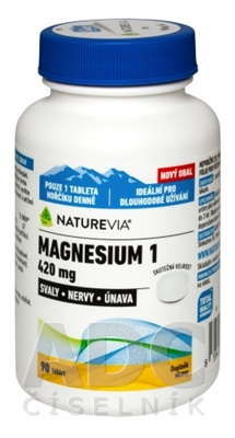 SWISS NATUREVIA MAGNESIUM 1 - 420 mg