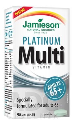 JAMIESON MULTI PLATINUM PRE DOSPELÝCH 65+