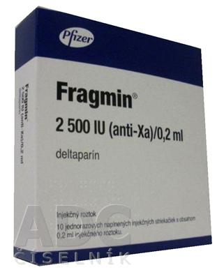 FRAGMIN 2500 IU (anti-Xa)/0,2 ml