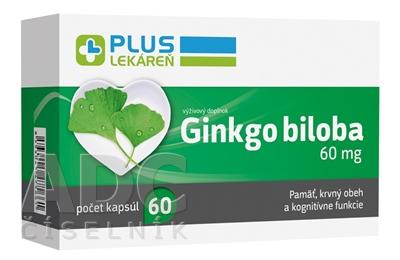 PLUS LEKÁREŇ Ginkgo biloba 60 mg