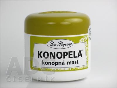 DR. POPOV KONOPELA konopná masť