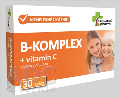 Slovakiapharm B-KOMPLEX + vitamín C