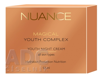 NUANCE YOUTH NIGHT CREAM all skin types