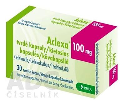 Aclexa 100 mg tvrdé kapsuly