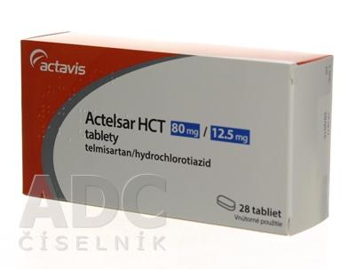 Actelsar HCT 80 mg/12,5 mg tablety
