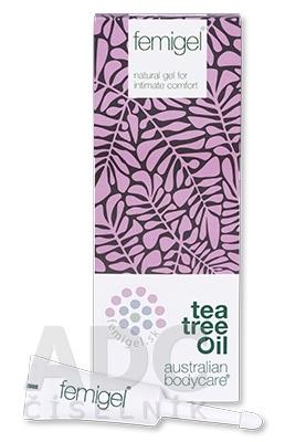 ABC tea tree oil FEMIGEL - Prírodný intímny gél