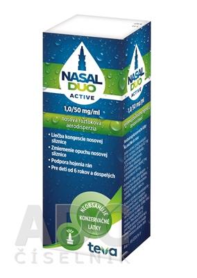 NASAL DUO ACTIVE 1,0/50 mg/ml