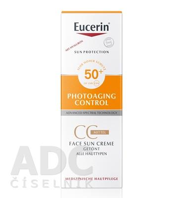 Eucerin SUN PHOTOAGING CONTROL CC KRÉM SPF 50+