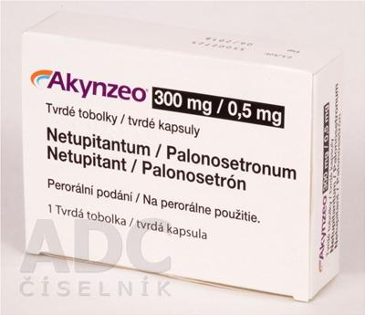 Akynzeo 300 mg/0,5 mg tvrdé kapsuly