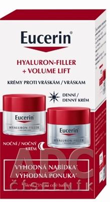 Eucerin HYALURON-FILLER+Volume-Lift krémy